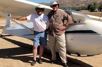 Jerry Lees' First Glider Solo