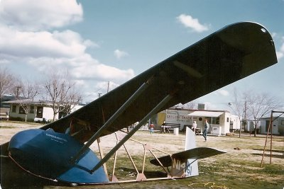 Primary glider 'In The Ghetto', from Mike Jongblood, circa 1970