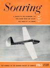 Soaring Magazine Cover, October 1963